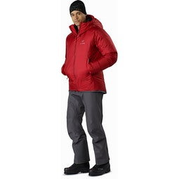 Firebee AR Parka Red Beach Full Body