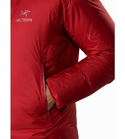 Firebee AR Parka Red Beach Hand Pocket