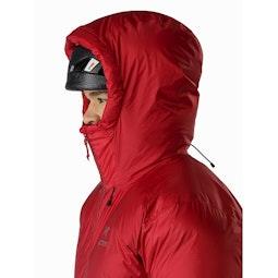 Firebee AR Parka Red Beach Helmet Compatible Hood