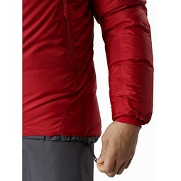 Firebee AR Parka Red Beach Hem Adjuster
