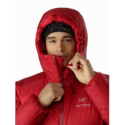 Firebee AR Parka Red Beach Hood