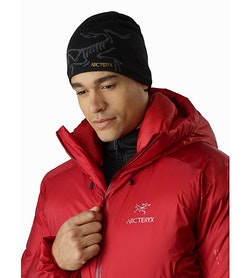Parka Firebee AR Red Beach Col interne
