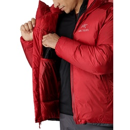 Firebee AR Parka Red Beach Internal Dump Pocket