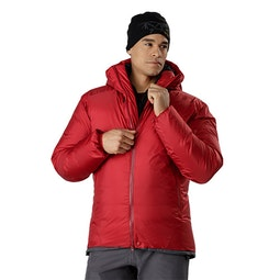 Firebee AR Parka Red Beach Open View