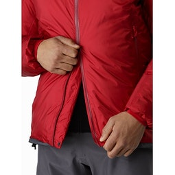 Firebee AR Parka Red Beach Two Way Zipper