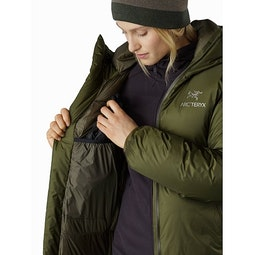 Firebee AR Parka Women's Bushwhack Internal Dump Pocket