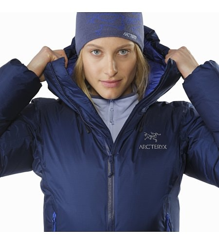 Firebee AR Parka Women's Twilight Front Collar