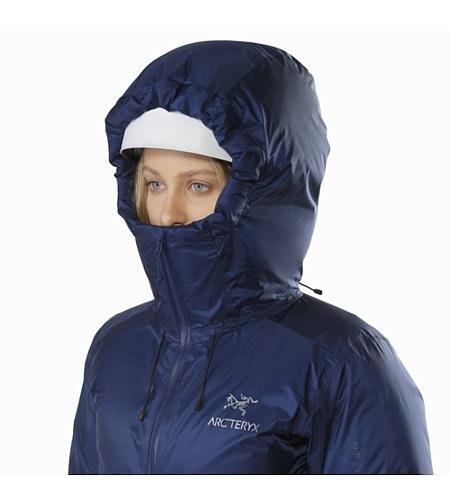 Firebee AR Parka Women's Twilight Helmet Compatible Hood