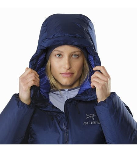 Firebee AR Parka Women's Twilight Hood Up