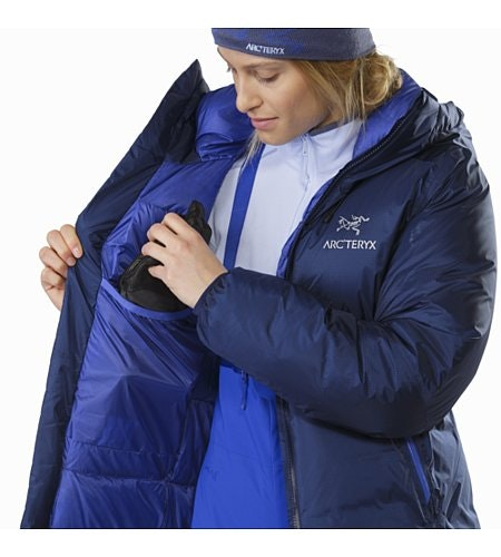 Firebee AR Parka Women's Twilight Internal Dump Pocket