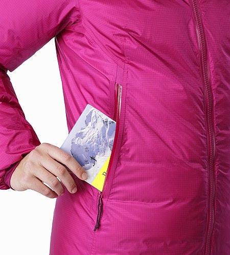 Firebee AR Parka Women's Violet Wine Hand Pockets