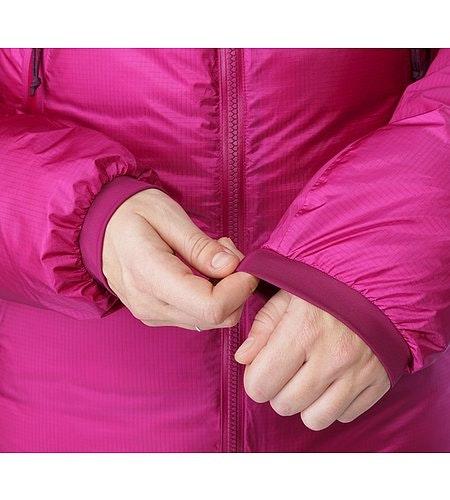 Firebee AR Parka Women's Violet Wine Stretch Cuffs