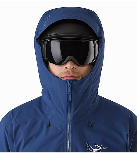 Veste Fissile Triton Capuche compatible avec un casque Vue de face