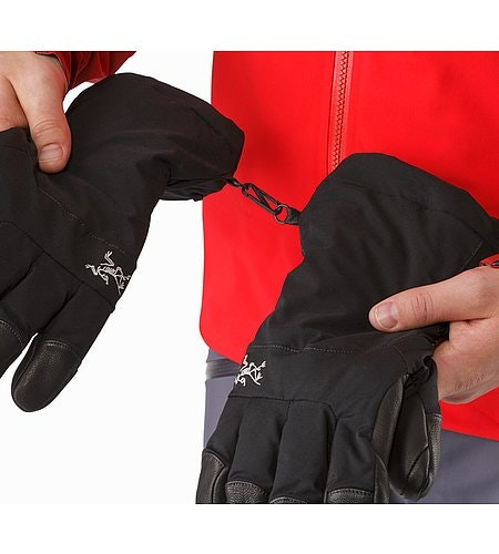 Fission Glove Black Clips