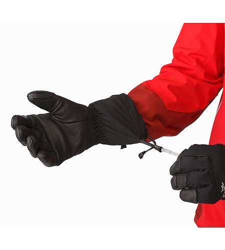 Fission Glove Black Wrist Cinch Release