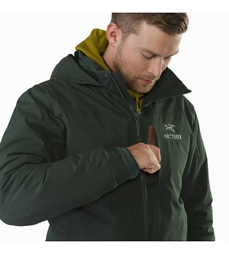 Fission SV Jacket Conifer Chest Pocket