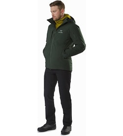 Fission SV Jacket Conifer Front View