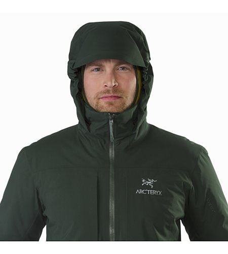 Fission SV Jacket Conifer Hood Up