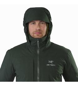 Fission SV Jacket Conifer Hood Up