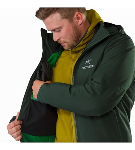Fission SV Jacket Conifer Internal Dump Pocket