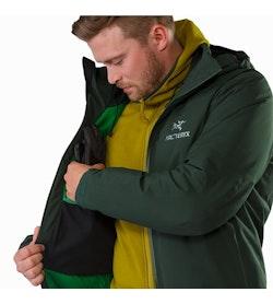 Fission SV Jacket Conifer Internal Dump Pocket