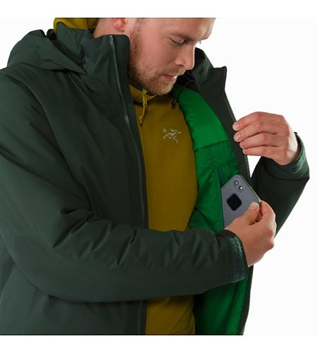 Fission SV Jacket Conifer Internal Security Pocket