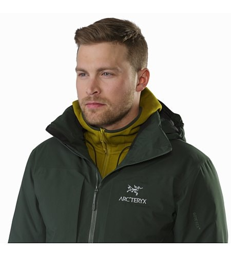 Fission SV Jacket Conifer Open Collar