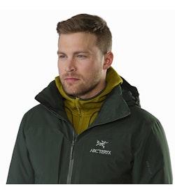 Fission SV Jacket Conifer Open Collar