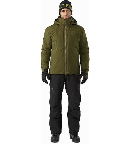 Fission SV Jacket Dark Moss Front View