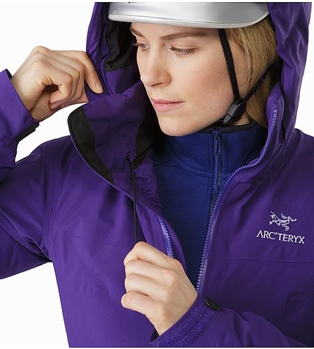 Fission SV Jacket Women's Azalea Hood Adjuster