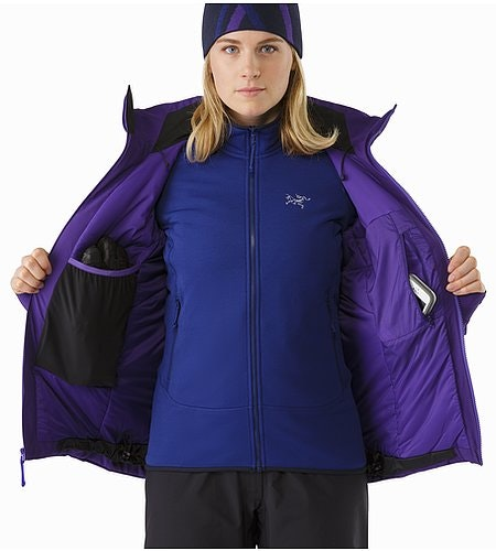 Fission SV Jacket Women's Azalea Internal Pocket