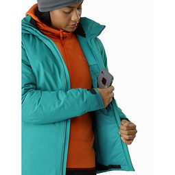 Fission SV Jacket Women's Illusion Internal Security Pocket