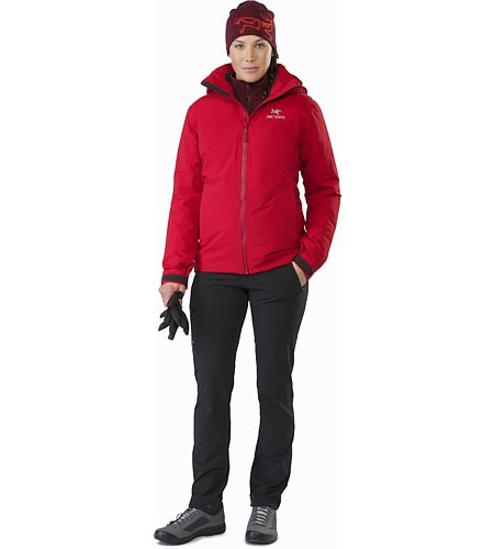Fission SV Jacket Women's Pomegranate Front View