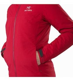 Fission SV Jacket Women's Pomegranate Hand Pocket