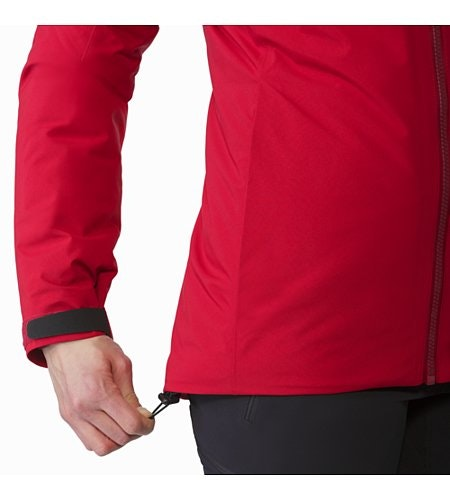 Fission SV Jacket Women's Pomegranate Hem Adjuster