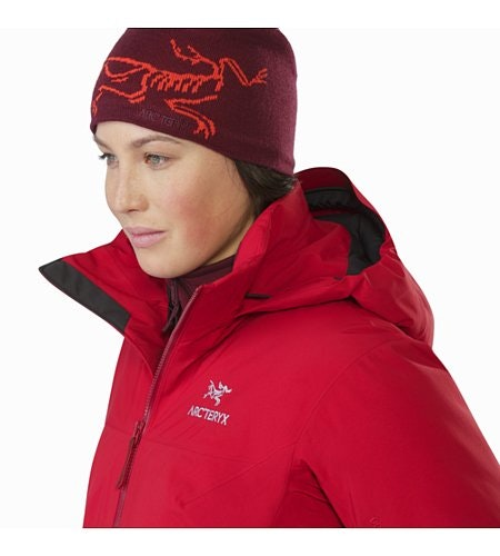 Fission SV Jacket Women's Pomegranate Open Collar