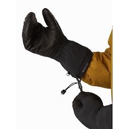 Fission SV Mitten Black Wrist Cinch Release