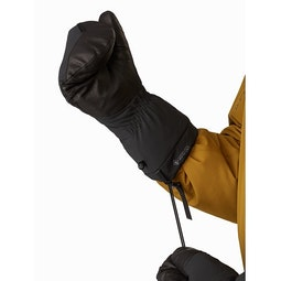 Fission SV Mitten Black Wrist Cinch