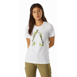 Forage T-Shirt Women's White Front View