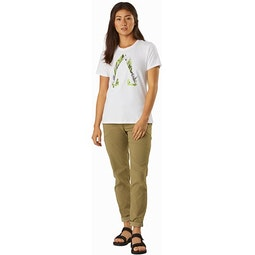 Forage T-Shirt Women's White Full View
