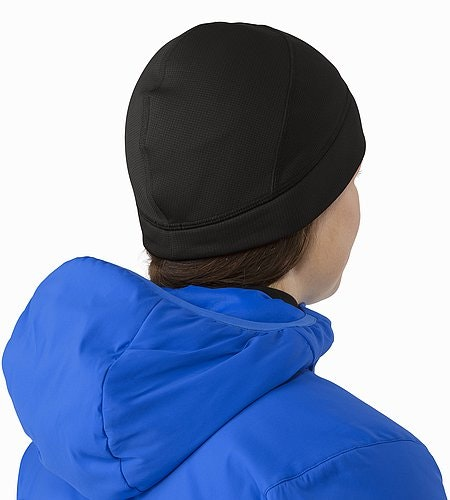Fortrez Beanie Black Back View