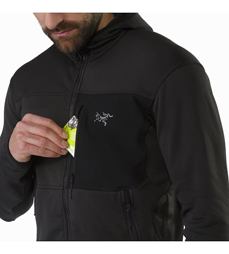 Fortrez Hoody Carbon Copy Chest Pocket