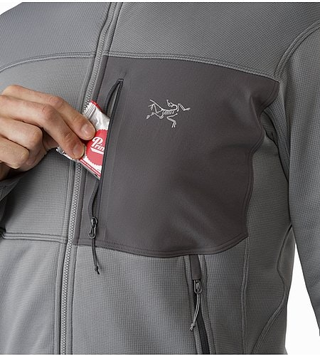 Fortrez Hoody Smoke Chest Pocket