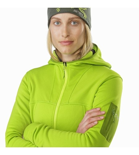 Fortrez Hoody Women's Dark Titanite Closed Collar