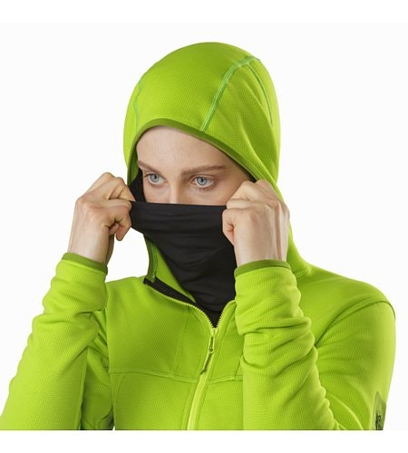 Fortrez Hoody Women's Dark Titanite Integrated Balaclava