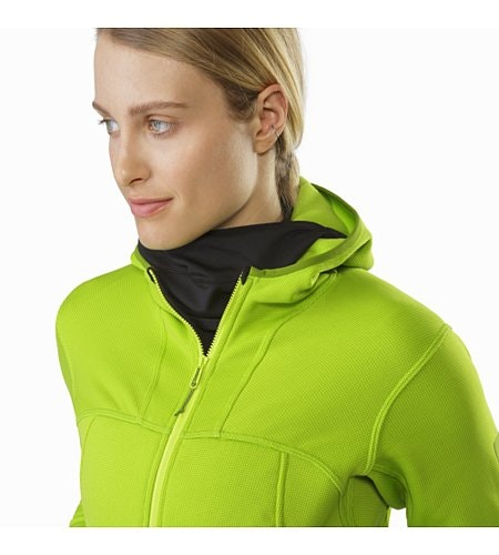 Fortrez Hoody Women's Dark Titanite Open Collar