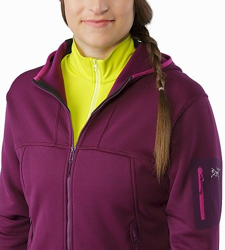 Fortrez Hoody Women's Lt Chandra Open Collar