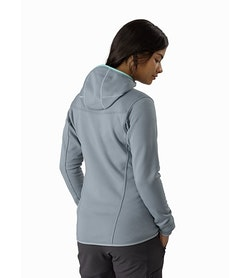 Fortrez Hoody Women's Robotica Back View