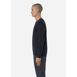 Frame LS Shirt Deep Navy Side View