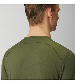 Frame Shirt SS Loden Back Detail